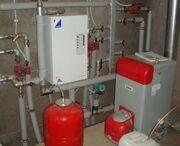 отопление дома газом под ключ